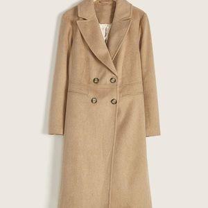 Addition Elle Camel Wool Blend Coat- Like New- Size 3X